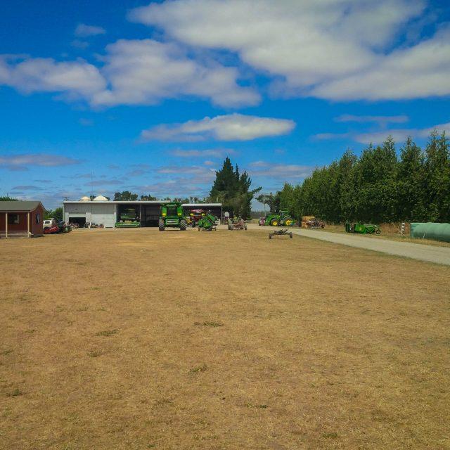 Scottville Yard mid-summer